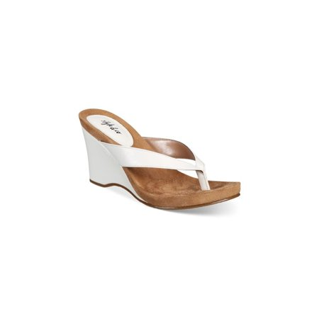 20b4f9591fa Style   Co. Womens Chicklet Open Toe Casual Platform Sandals - image 1 ...