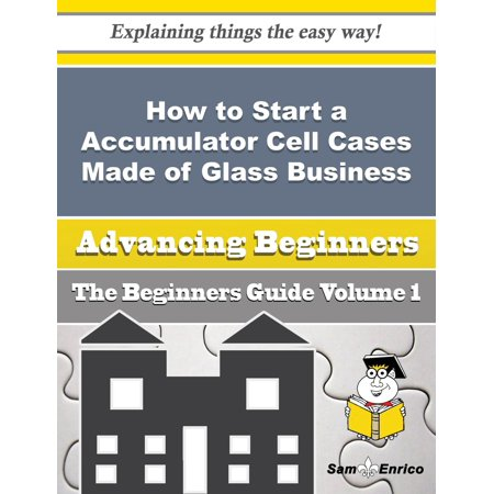 How to Start a Accumulator Cell Cases Made of Glass Business (Beginners Guide) - (How To Make Mercury Glass)
