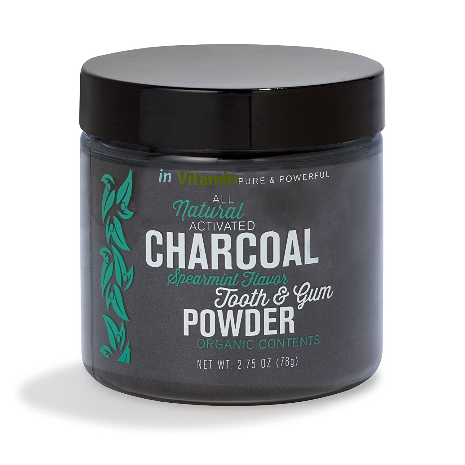 Activated Charcoal Tooth Gum Powder Walmart Com