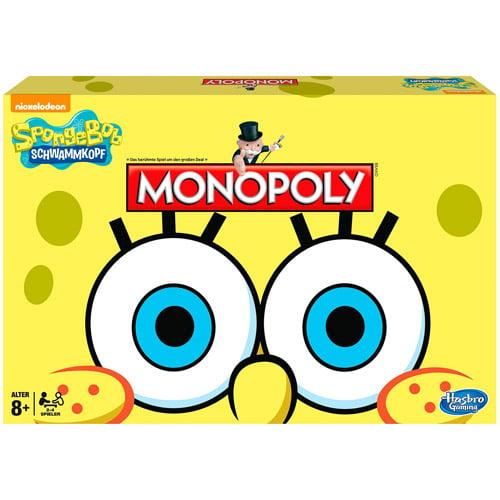 Monopoly Game SpongeBob SquarePants Edition by Generic