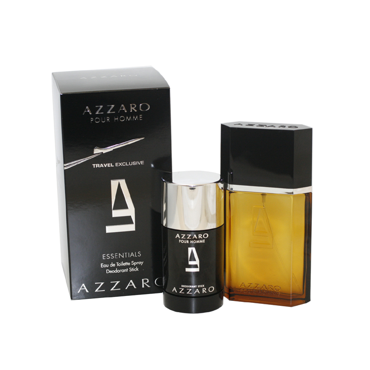Azzaro 2 Pc. Gift Set ( Eau De Toilette Spray 3.4 Oz & Deodorant Stick 2.2 Oz)