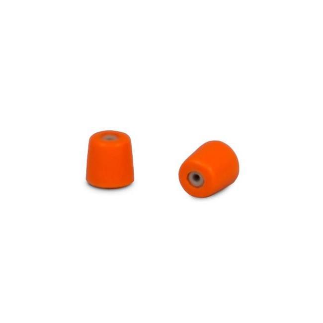 High Noise Foam Ear Tips, Orange - Medium - 50 Pairs