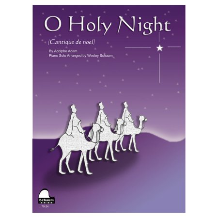 SCHAUM O Holy Night Educational Piano Series Softcover - Halloween Night Piano Sheet Music