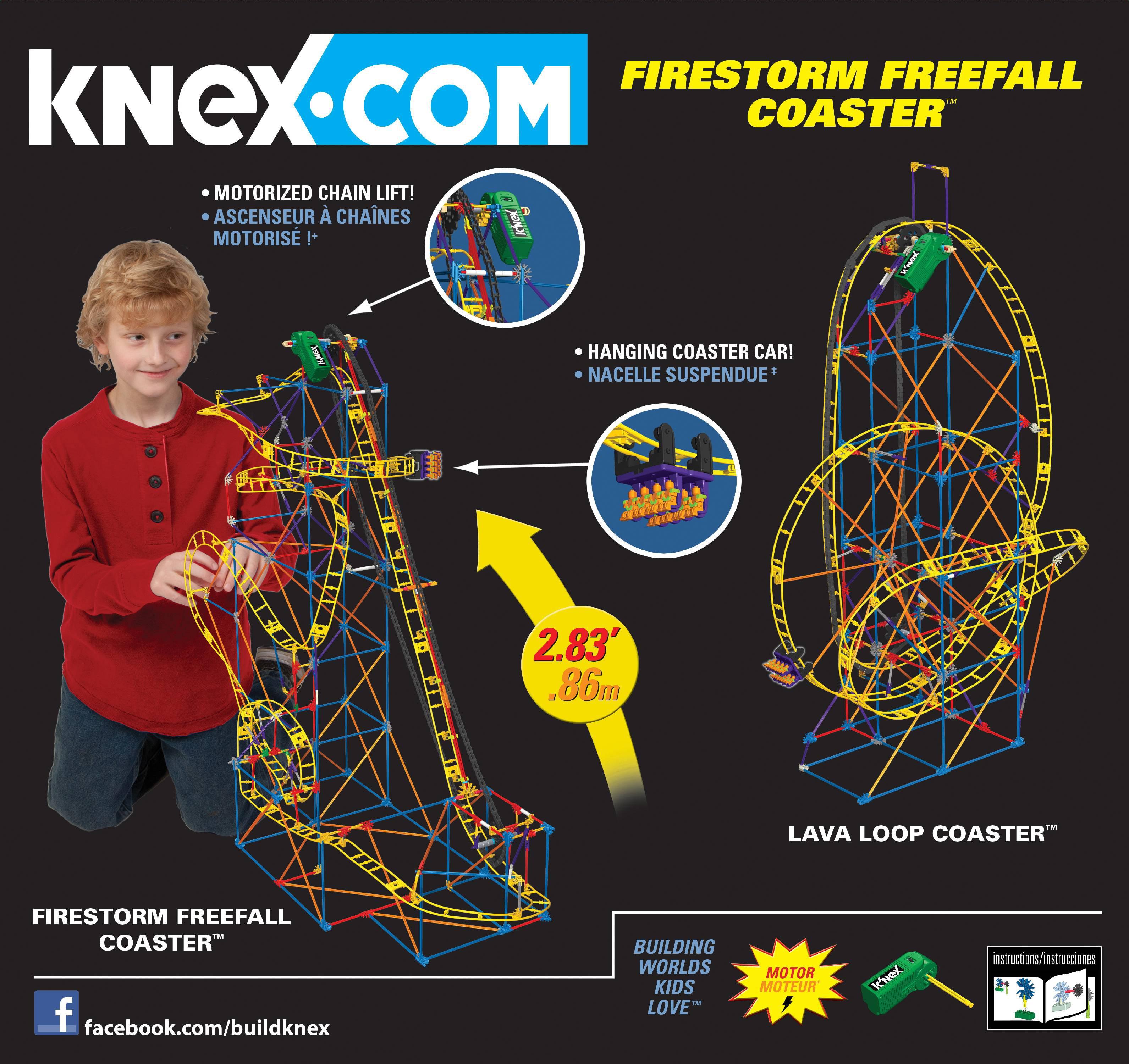 Knex vertical viper roller coaster 12435 k'nex instruction manual.