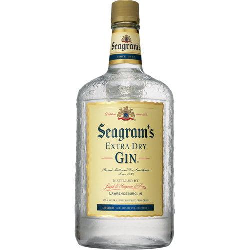Seagrams: Gin Seagrams Gin, 1.75 L