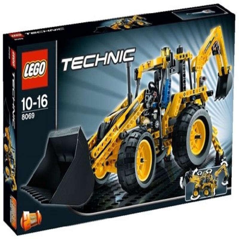 Lego Technic Backhoe Loader by