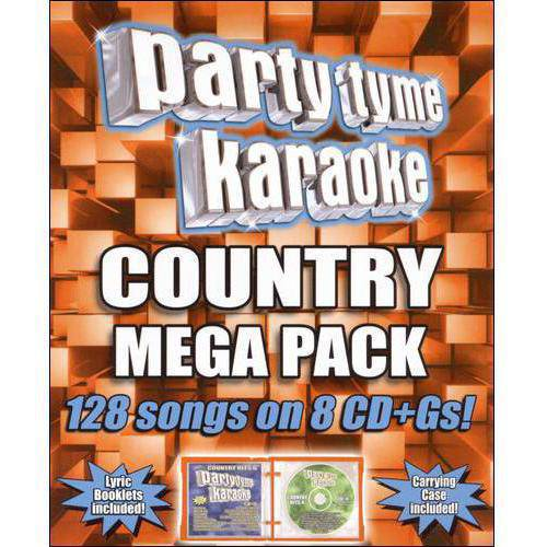 Party Tyme Karaoke: Country Mega Pack [8 Discs] (CD)