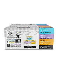 """""""I and love and you"""", All Natural Canned Cat Food, Variety Pack, 3 oz, 12 Count"""