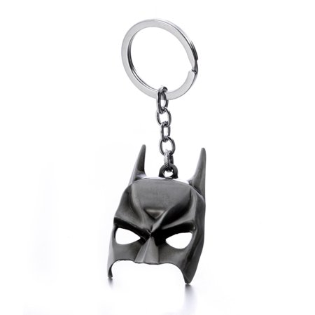 DC Comics Superhero Batman Mask Keychain Alloy Metal Pendant Keyrings Key Chains - Superhero Keychains