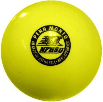 Penn Monto FPM 500 NFHS Field Hockey Game Balls (dz), Yellow by