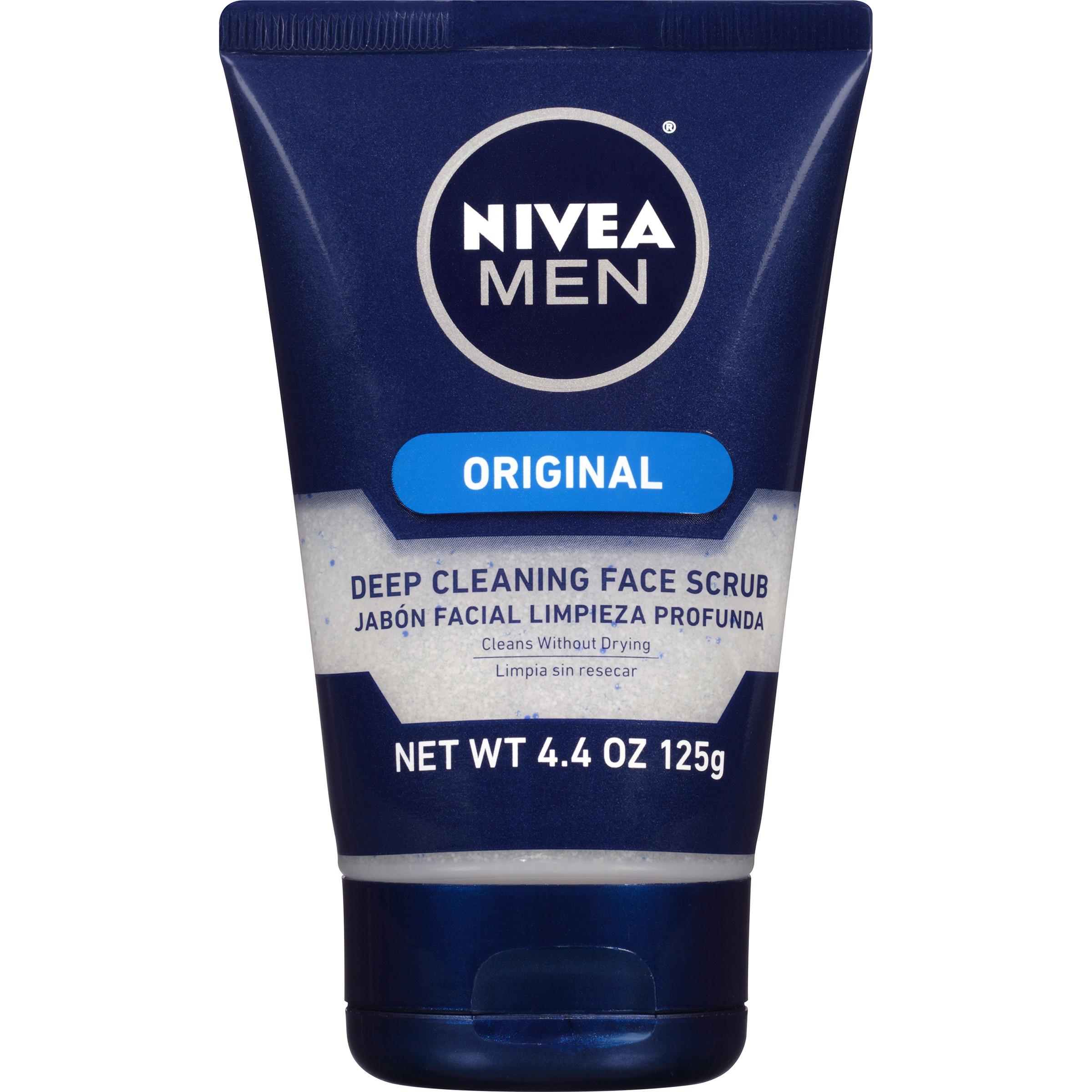 NIVEA Men® Original Deep Cleaning Face Scrub 4.4 oz.
