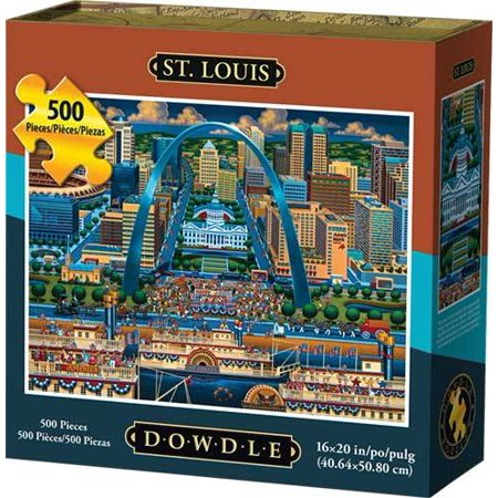 Dowdle Jigsaw Puzzle St Louis 500 Piece