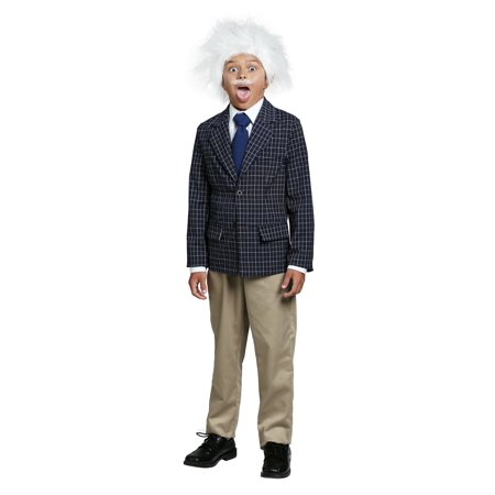 Einstein Boys Costume - Albert Einstein Kids Costume