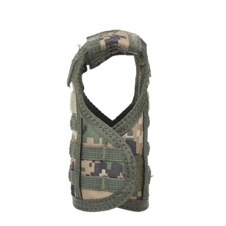 Beverage Vest Insulator Mini Tactics Cooler Beer Bottle Can Vests Cover with Adjustable Shoulder Belts KTV Bar