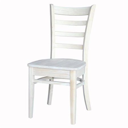 International Concepts Whitewood C-617P Emily Side Chair - image 1 of 1