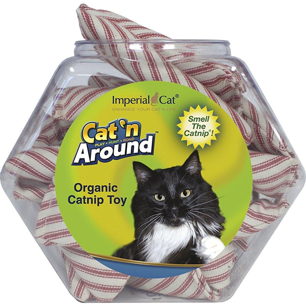 imperial cat cat and around, candystick organic catnip toy