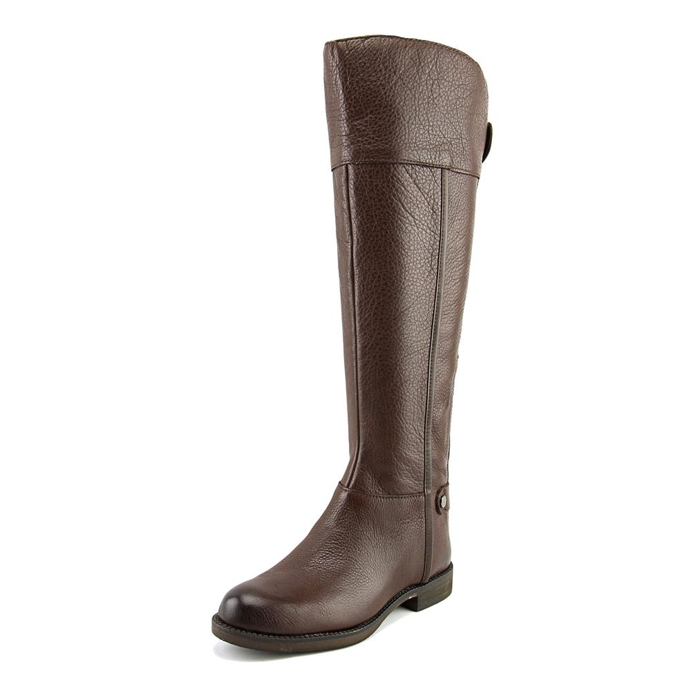 Franco Sarto Christine Round Toe Leather Knee High Boot by Franco Sarto