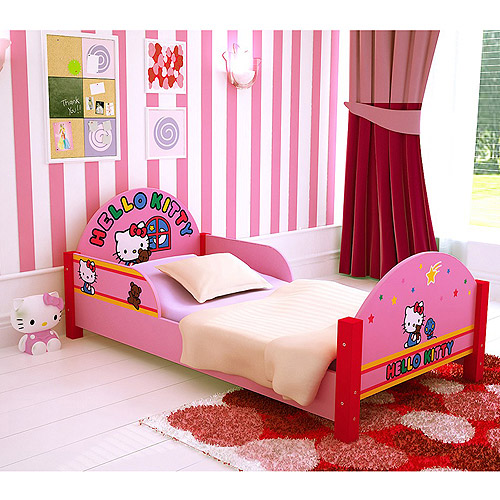 hello kitty bunk beds hello kitty toddler bed walmart 15543