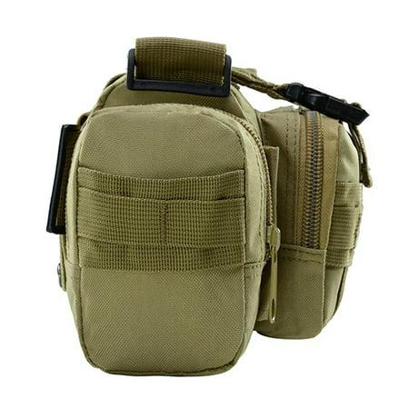 Multi-functional Waist Pack Bike Front Handle Bag Fishing Tackle Sling Bag Photography Training Utility Shoulder Backpack - image 3 de 7
