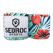 "Sedroc Boxing Mexican Style 180"" Hand Wraps - Hawaiian"