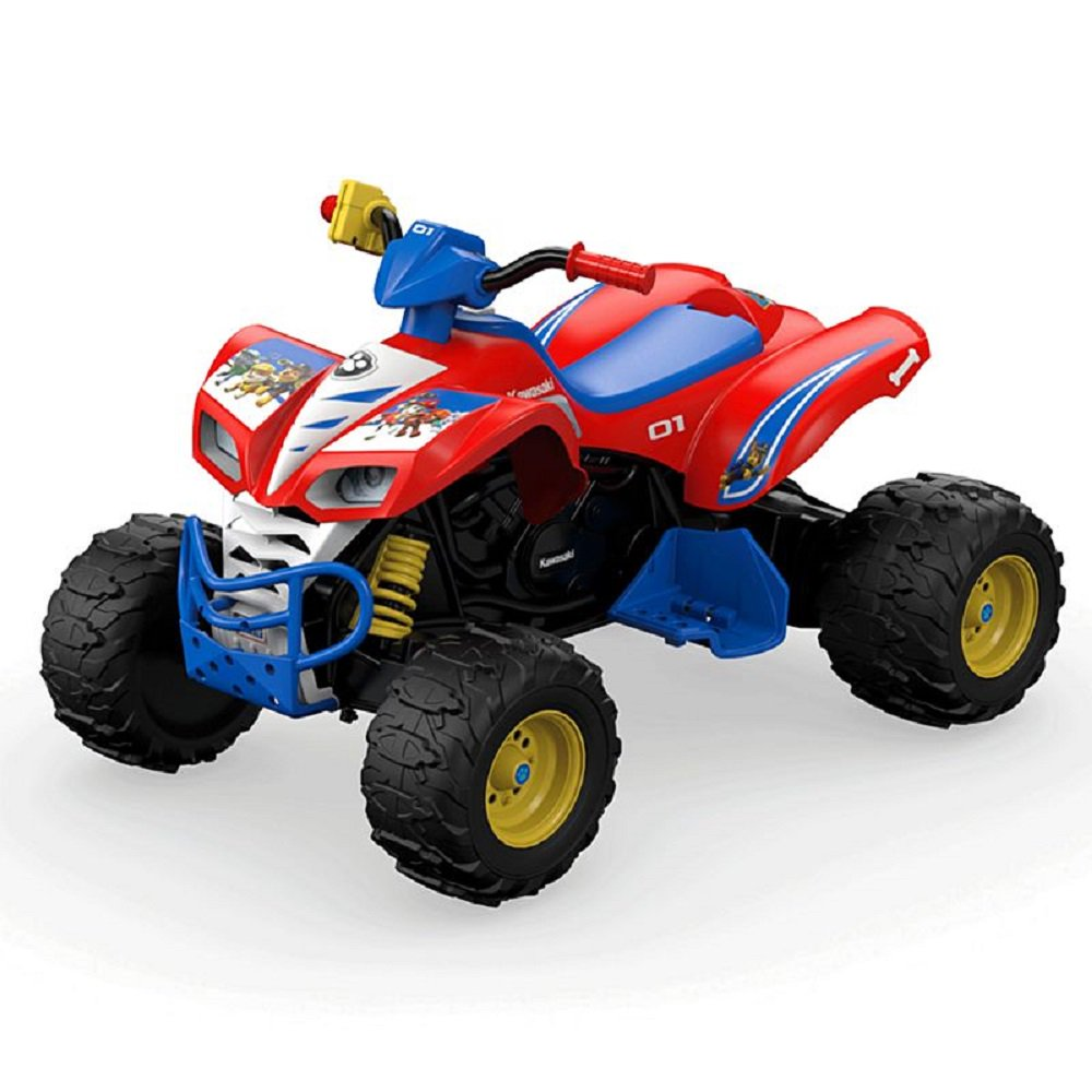 Power Wheels PAW Patrol Kawasaki KFX 12V Battery-Powered Ride-On by Fisher-Price