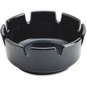 """Impact Products Econo Ash Tray Durable 1.8"""" Height x 4"""" Width Plastic Black by Impact Products"""