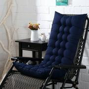 110x40x8cm Patio Chaise Lounger Cushion Chaise Lounger Cushions Chair Sofa Cushion Window Seat Mat Indoor Outdoor