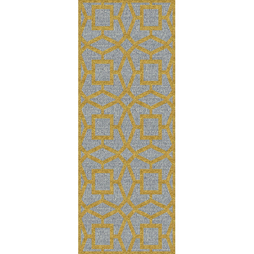 Surya Dream Silvered Gray/Yellow Area Rug