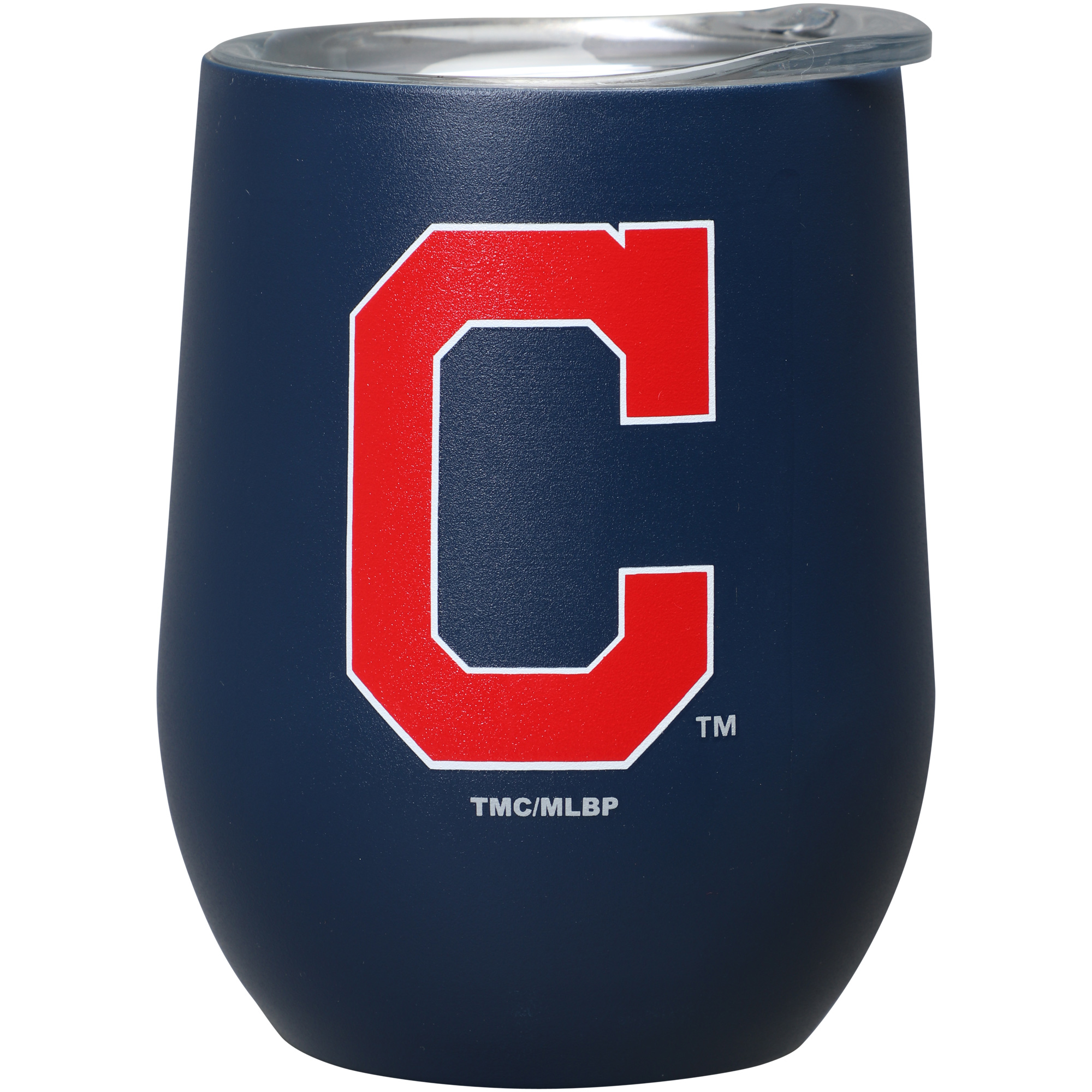 Cleveland Indians 15oz. Matte Stainless Steel Stemless Tumbler - No Size