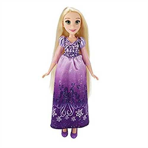 Disney Princess Royal Shimmer Rapunzel Doll by Hasbro