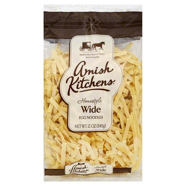 Amish Kitchens Homestyle Wide Egg Noodles, 12 oz