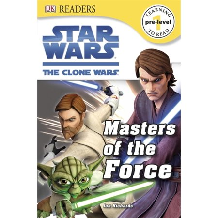 DK Readers L0: Star Wars: The Clone Wars: Masters of the Force - eBook