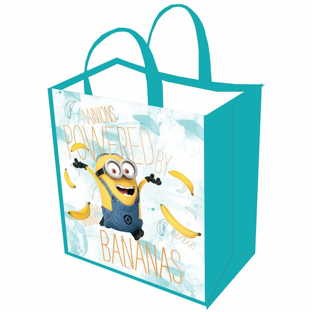 Women's Minions Reusable Shopping Tote Bag - Banana