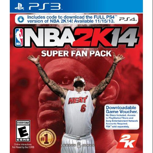 Take-two Nba 2k14 Super Fan Pack - Sports Game - Download - Playstation 3 (47360)