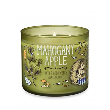 Bath & Body Works 3-Wick Scented Candle in Mahogany Apple ()