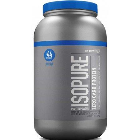 Isopure Zero Carb Protein Powder, Vanilla, 25g Protein, 3 Lb