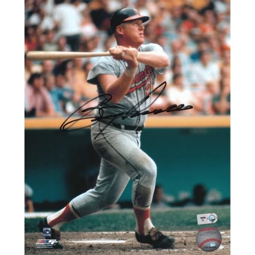 "Boog Powell Baltimore Orioles Fanatics Authentic Autographed 8"" x 10"" Swinging Photograph - No Size"