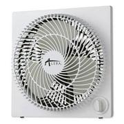 Alera Group ALEFANBX10B 120V 0.7A 9 in. 3-Speed Plastic Desktop Box Fan, White