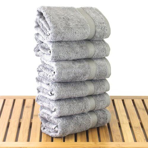 Bare Cotton Blossom Turkish Cotton Hand Towel (Set of 6)