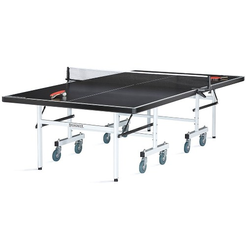 Brunswick Indoor Outdoor Ping Pong Table Black Smash 5.0 by Supplier Generic