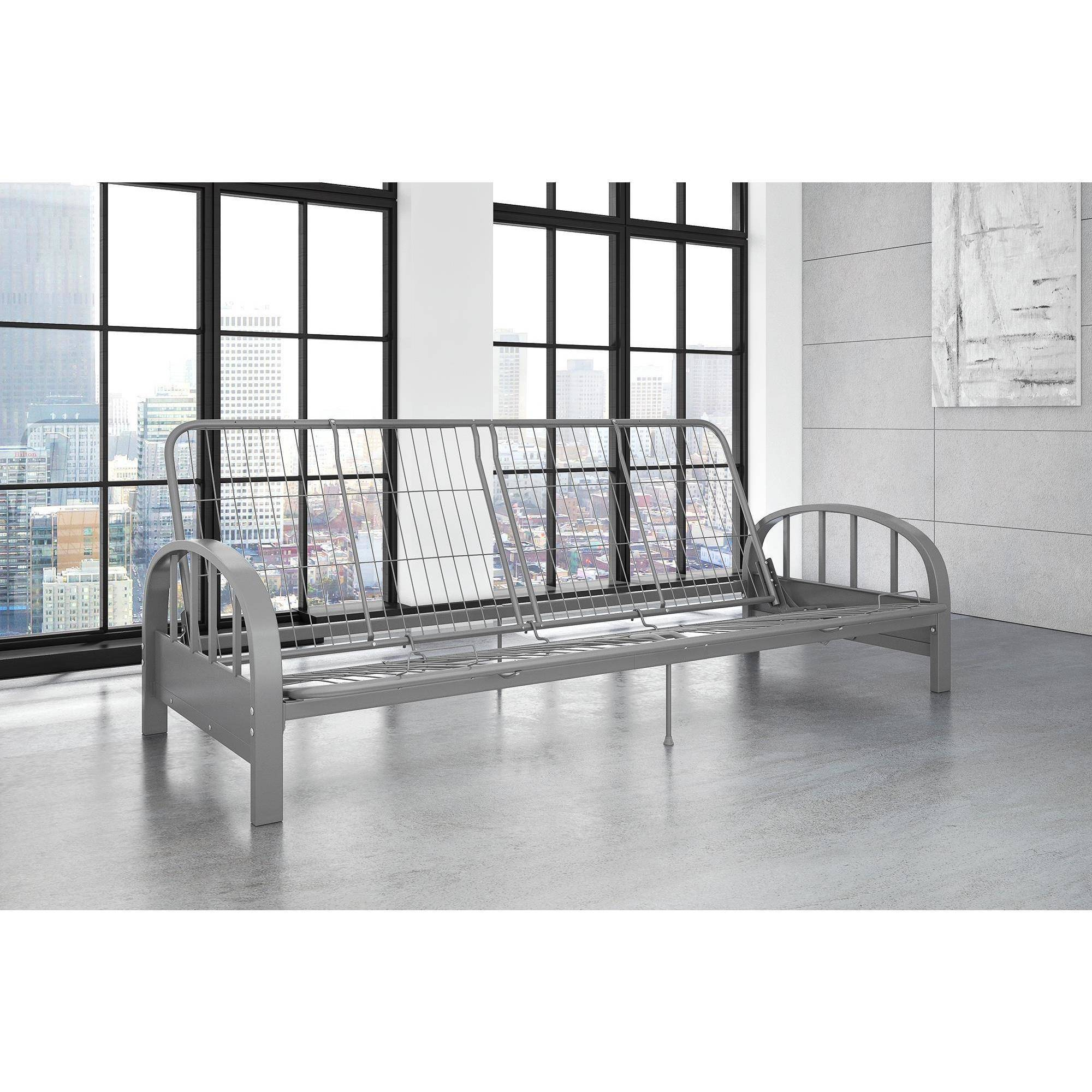 DHP Aiden Metal Futon Frame, Multiple Colors by Dorel Home Products