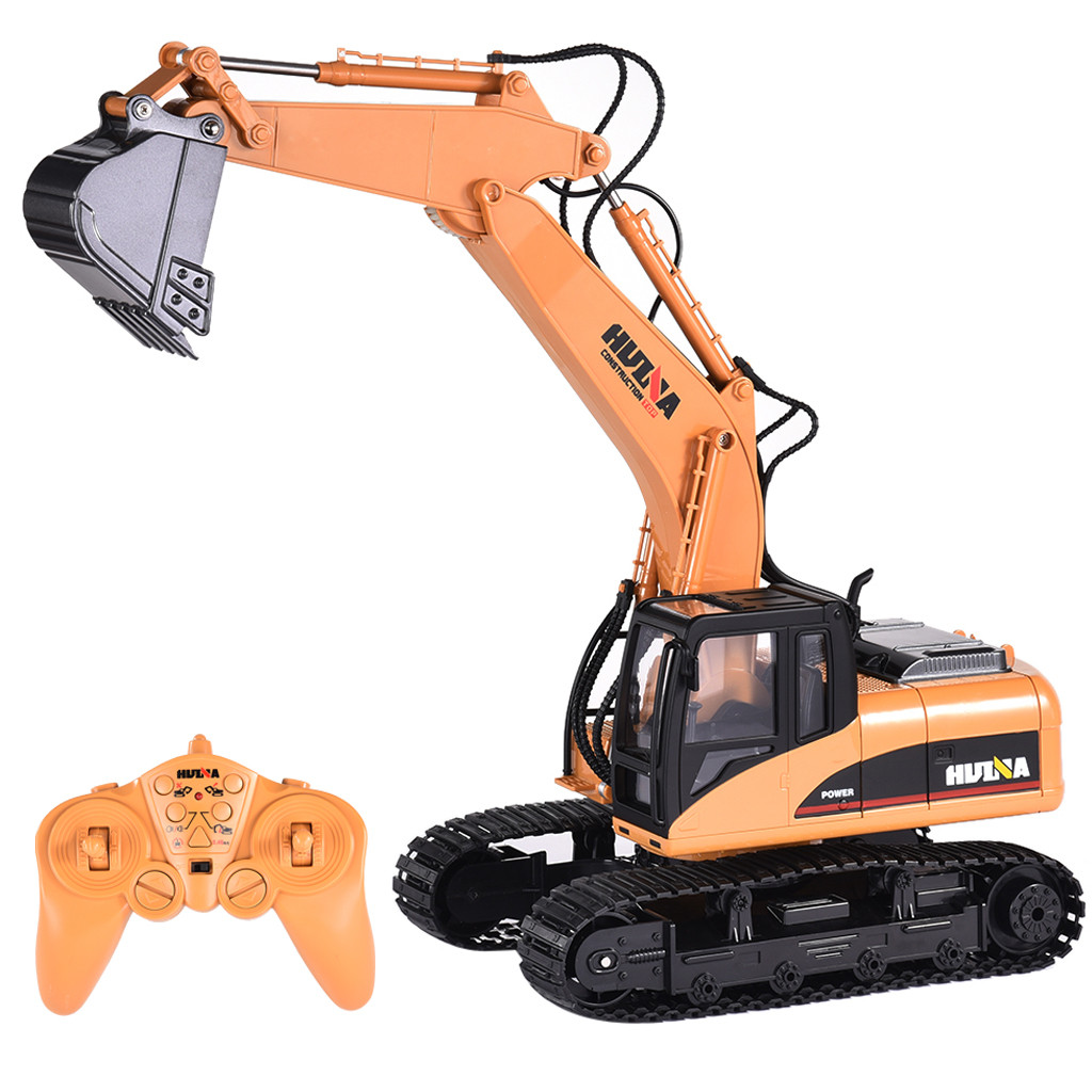 HIGH END RC Alloy Excavator RTR For kids 15 Channel 2.4G 1//14 rechargeable 2020