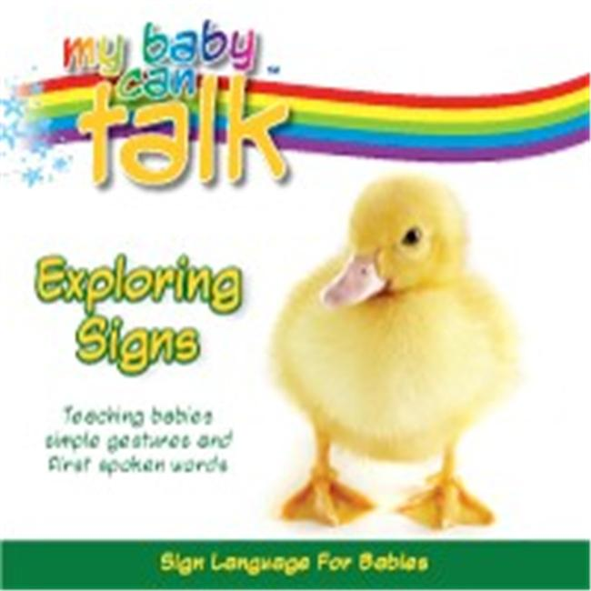 Baby Hands MCBT-ESBB My Baby Can Talk - Exploring Signs Board Book