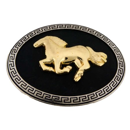 Running Horse Belt buckle Female Ladies Cowgirl Western Rodeo Costume Gift Friend New - Friends Costumes