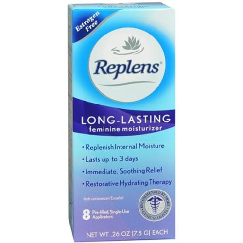 Replens Vaginal Moisturizer With Pre-Filled Applicators 8 Each (Pack of 3)