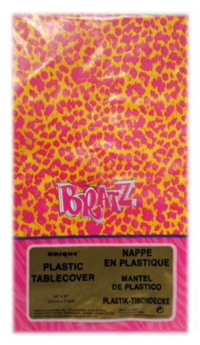Bratz Plastic Table Cover, Bratz Fashion Pixiez Plastic Tablecover By Unique Industries by