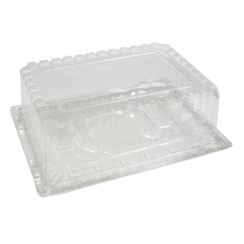 Pactiv Smartlock Showcake APET Plastic Cake Container Black/Clear 14  Length x 10  sc 1 st  Walmart & Pactiv Smartlock Showcake APET Plastic Cake Container Black/Clear ...