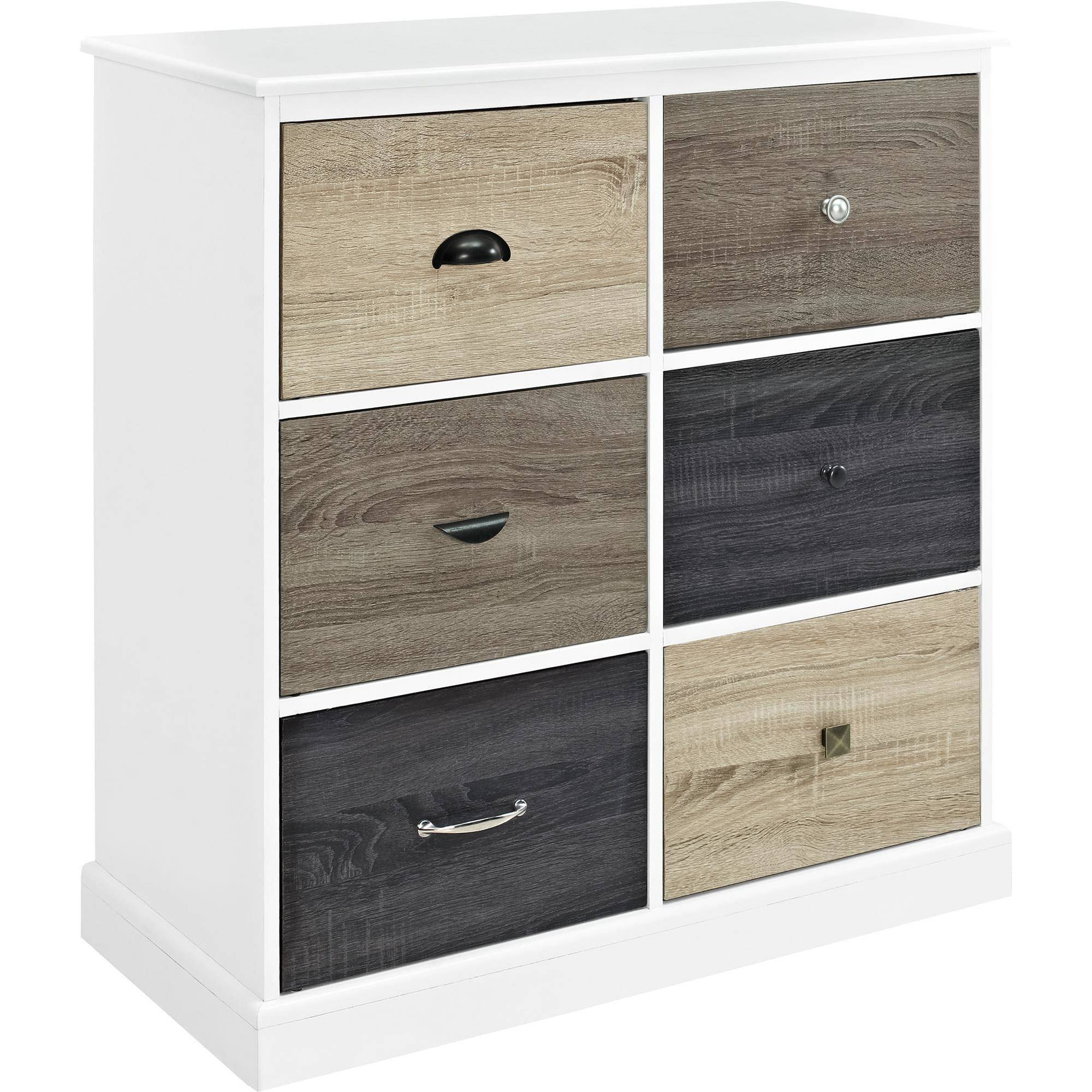 Contemporary Wood Storage Cabinets With Doors Home Mercer 6 Door Cabinet Multicolored Fronts White Walmartcom For Inspiration