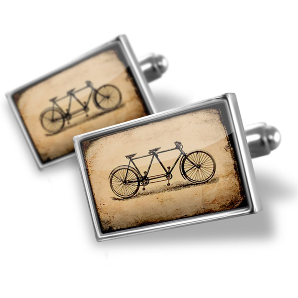 Cufflinks Tandem bicycle - NEONBLOND