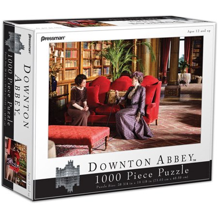 pressman toy downton abbey 1000 piece. Black Bedroom Furniture Sets. Home Design Ideas